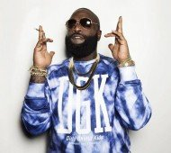"""This Nov. 11, 2014 photo shows rapper Rick Ross posing for a portrait at Def Jam In New York in promotion of his album """"Hood Billionaire,"""" released on Monday, Nov. 24. (Photo by Victoria Will/Invision/AP, File)"""