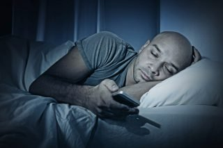 sleep and blue light