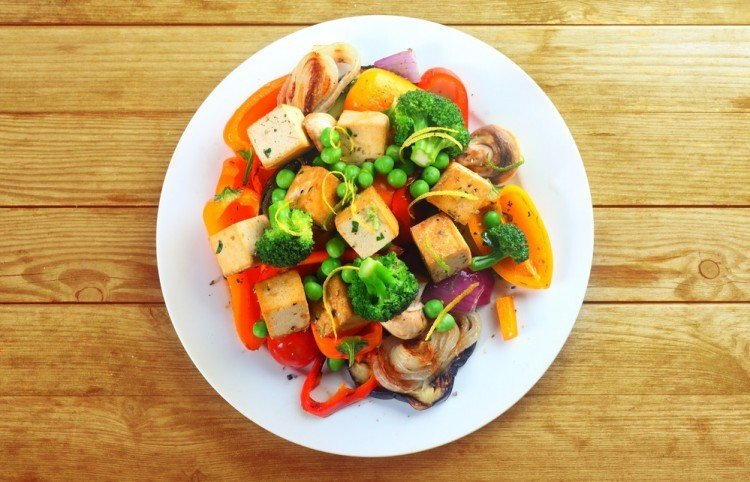 healthy eating & colourful food