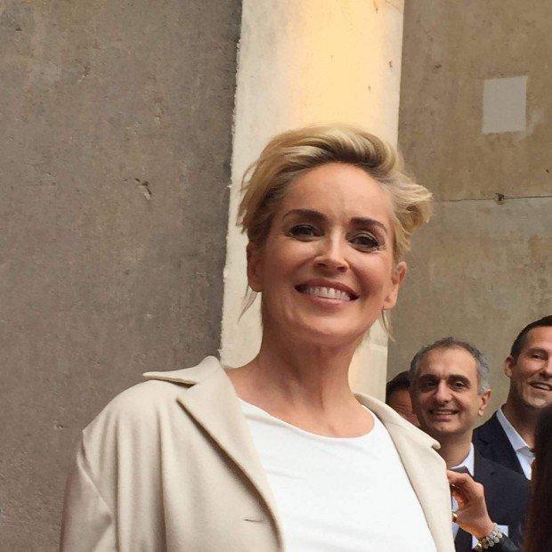 Sharon Stone in Berlin