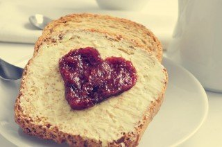Carbohydrates - Jam and Bread