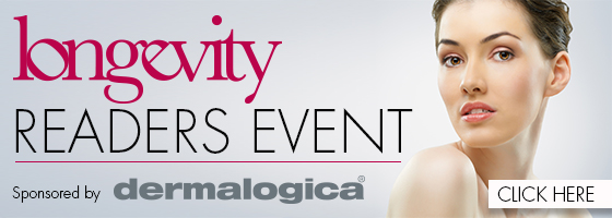 Longevity Readres event sponsored by Dermalogica