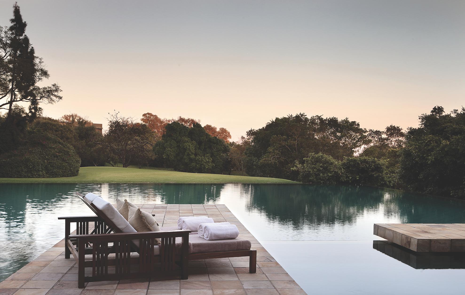 Saxon Hotel Pool | Longevity