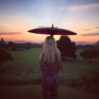Gisele Wertheim Aymes in Bagan