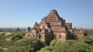 Mikhail Wertheim Aymes Drone Picture in Bagan