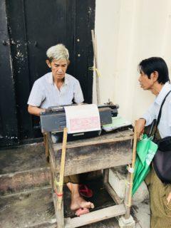 Typewriter Yangon