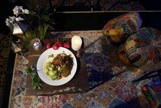 Vedic Food plate