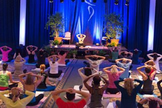 Yoga at the Deepak Chopra Retreat