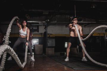 battle ropes | Longevity LIVE