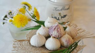 raw garlic [longevity live]