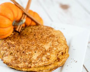 Power Pumpkin Pancakes