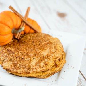 Power Pumpkin Pancakes