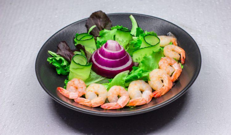 zesty Thai shrimp [longevity live]
