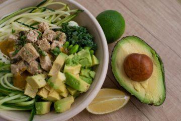avocado fruit bowl [longevity live]