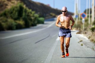 sluggish feeling guy running on the road [longevity live]