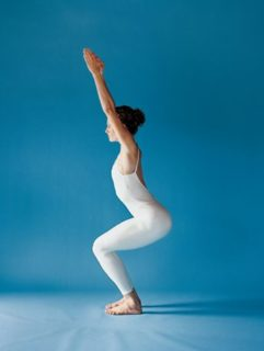 Yoga for weight loss chair pose