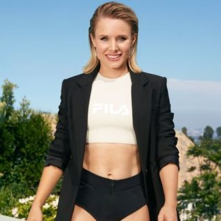 snacking Kristen Bell [longevity live]